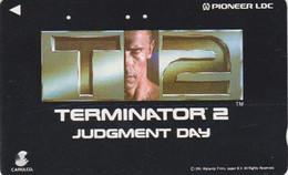 TC JAPON / 110-011 - CINEMA - ARNOLD SCHWARZENEGGER - TERMINATOR - MOVIE JAPAN Phonecard - S 17400 - Cinema