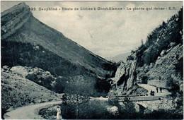 6AT 1O40. ROUTE DE CLELLES A CHICHILLIANE - LA PIERRE QUI DANSE - Unclassified