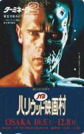 RARE TC JAPON / 110-016 - CINEMA - ARNOLD SCHWARZENEGGER - TERMINATOR ** JTB ** - MOVIE JAPAN Phonecard - S 17405 - Cinema