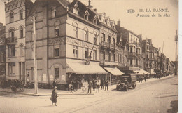 La Panne , De Panne  , Avenue De La Mer ( épicerie Delhaize Frères ) PIB N° 11 - De Panne