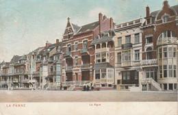 De Panne , La Panne , La Digue ,( DTC Anvers 1905 ,Pan 3 , Kleur ) - De Panne
