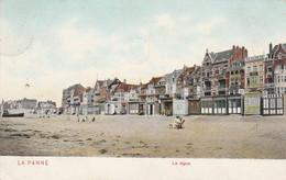 De Panne , La Panne , La Digue ,( DTC Anvers 1905 ,Pan 8 , Kleur ) - De Panne