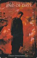 TC JAPON / 110-209529 - CINEMA - ARNOLD SCHWARZENEGGER - END OF DAYS - MOVIE JAPAN Free Phonecard - S 17407 - Cinema