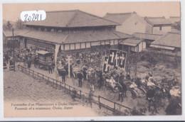 OSAKA- FUNERAILLES D UN MISSIONNAIRE - Osaka