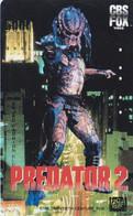 TC JAPON / 110-011 - CINEMA - ARNOLD SCHWARZENEGGER - PREDATOR - MOVIE JAPAN Phonecard - S 17411 - Cinema