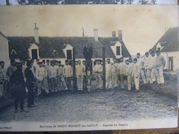 36  St Benoit Du Sault    Annexe Du Busson    1912 - Barracks