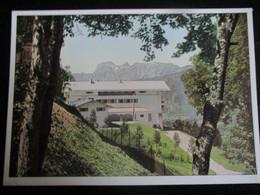Postkarte Berghof Obersalzberg Haus Wachenfeld Berchtesgaden Photo-Hoffmann München - Oorlog 1939-45