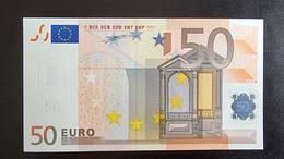 50 Euro Duisenberg P002 X10 UNC Germany - Bankfrisch - 50 Euro