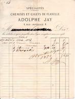 Chemises Et Gilets De Flanelle - Adolphe JAY - Lyon 1871 - 1800 – 1899