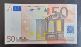 50 Euro Duisenberg R001 X00 UNC Germany - Bankfrisch - 50 Euro