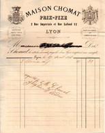 Chemises Et Gilets De Flanelle - Maison CHOMAT - Lyon 1866 - 1800 – 1899