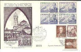 MATASELLOS 1951  MOYA  BARCELONA - 1951-60 Cartas