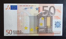 50 Euro Duisenberg R015 X07 UNC Germany - Bankfrisch - 50 Euro