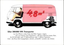 CPA VW Transporter, Reklame, Kleintransporter - Zonder Classificatie
