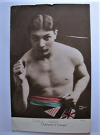 SPORTS - BOXE - Charles Ledoux -  Champion D'Europe - Boxing