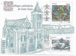 F4930  Basilique De Saint-Denis   Beaux Cachets                (claAver8) - Usati