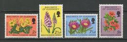 GUERNESEY 1972  N° 62/65 **  Neufs MNH Superbes C 4 € Flore Fleurs Oxalis Pes-Caprae Flora Flowers - Guernesey
