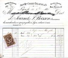 Denrées Coloniales, Huiles & Savons - Fournet & Boisson - Lyon 1880 - 1800 – 1899