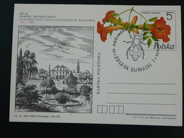 Entier Postal Stationery Card Abeille Bee Pologne Poland Ref 782 - Abeilles