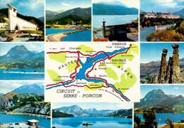 SERRE-PONCON    ( HAUTES ALPES )   MULTI - VUES - Otros Municipios