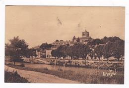 CPSM Ramuntcho Années1930 La Charente à Saint-Savinien (17) - Andere Gemeenten