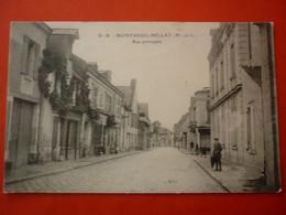 49. CPA  MONTREUIL BELLAY  RUE PRINCIPALE - Montreuil Bellay