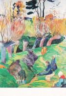 Paul Gauguin Les Saules (Carte Vierge) - Paintings