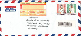 Qatar Registered Air Mail Cover Sent To Germany 19-10-1997 - Qatar