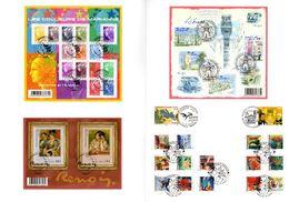 """Sous La Faciale (> 25 €) """" SALON D'AUTOMNE 2009 """" Sur Souvenir Philatélique 4 Pages. Parfait état. Voir Les Scans - Documents Of Postal Services"""