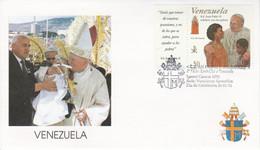 VENEZUELA 1996 VISITE PAPE JEAN PAUL II - Papes