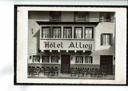 05 - MONETIER Les BAINS - Hôtel Alliey, Carte Double, Voir Scans - 2396 - Otros Municipios
