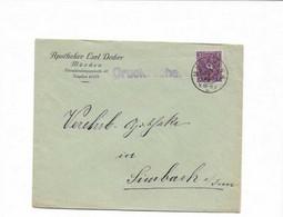 Brief Aus München 1922 - Briefe U. Dokumente