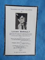 FAIRE PART AVIS DECES MILITAIRE INDOCHINE  THAT KE MARECHAL LOGIS 6 SPAHIS MAROCAINS 1949 - Documenti