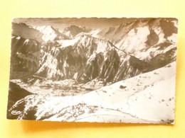 V11-A-38-isere-l'alpe D'huez-vue Panoramique Sur Huez( Et Bourg D'oisans- Pre Gentil--beau Timbre - Sin Clasificación