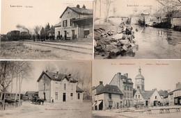 Lot 16 Belles Cpa Village Gare - 5 - 99 Cartoline