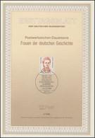ETB 06/1989 Frauen Der Geschichte: Ihrer - FDC: Covers