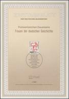 ETB 01/1989 Frauen Der Geschichte: Salomon 500 Pf. - FDC: Covers