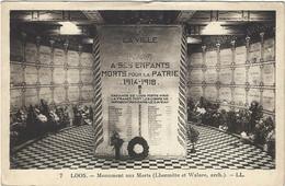 59  Loos Les Lille  -  Monument Aux Morts - Loos Les Lille