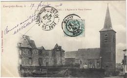 59  Louvigny  Bavay   - L'eglise Et Le Vieux Chateau - Loos Les Lille