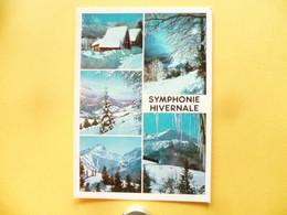 V11-A-38-neige Et Soleil--symphonie Hivernale--5 Vues- - Sin Clasificación
