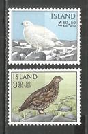 ICELAND 1965 Mint Stamps MNH(**) Set Birds - Unused Stamps