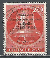 Germany Berlin 1954 Year. Used Stamp , Mi # 118 - Used Stamps