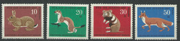 Germany Berlin 1967 Year Mint Stamps MNH(**) Mi.# 299-302 - Unused Stamps