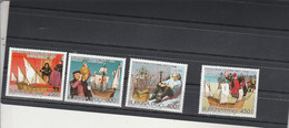 Burkina Faso 1986 Yvert Série 693 à 695 + PA  320  ** Neuf Sans Charnière - Christophe Colomb - Burkina Faso (1984-...)