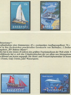 BARBADOS / MiNr. 947 - 950 / Tourismus: Schiffe / Postfrisch / ** / MNH - Ships