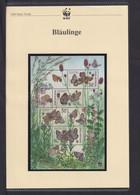 "2002  Tschechische Republik  WWF  ""Blaülinge""  Komplettes Kapitel - Collections, Lots & Series"