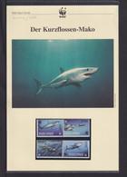 "2002  St. Vincent  Grenadinen Union Island WWF  ""Der Kurzflossen-Mako""  Komplettes Kapitel - Sonstige"
