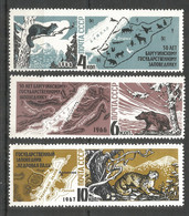Russia USSR 1966 Year, Mint Stamps MNH (**) , Mi.# 3233-34, 3400 - Unused Stamps