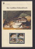 "2006  Montserrrat WWF  ""Der Antillen-Ochsenfrosch""  Komplettes Kapitel - Lots & Serien"
