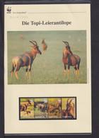 "2006  Tansanie WWF  ""Die  Topi-Leierantilope""  Komplettes Kapitel - Lots & Serien"